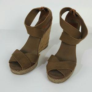Tory Burch sandals platform size 9B